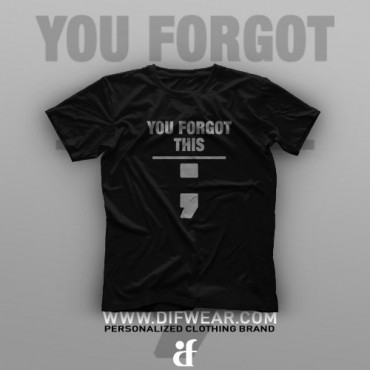 تیشرت Programming: You Forgot This #15