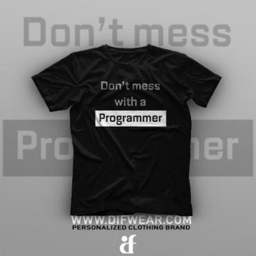 تیشرت Programming: Don't Mess With a Programmer #7