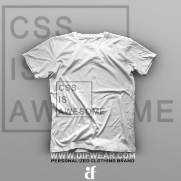تیشرت Programming: CSS is Awesome #3