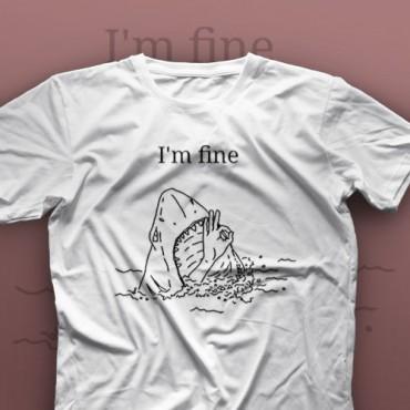 تیشرت I'm Fine #2