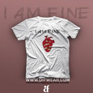 تیشرت I'm Fine #5