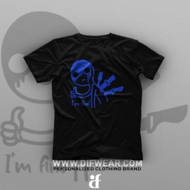 تیشرت I'm Fine #6