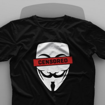 تیشرت V for Vendetta: Censored