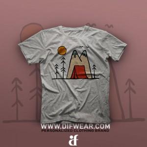 تیشرت Camping #29