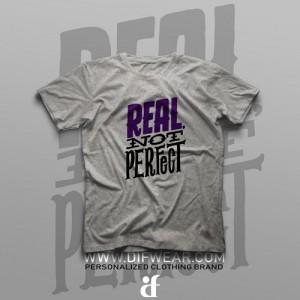 تیشرت Real, Not Perfect #1
