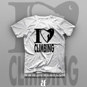 تیشرت I Love Climbing #1