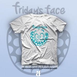 تیشرت Friday's Face