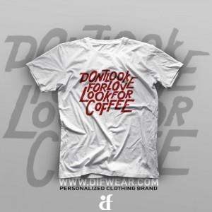 تیشرت Look For Coffee