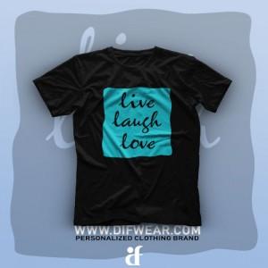 تیشرت Live, Laugh, Love