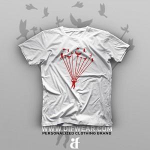 تیشرت Skydiving #5