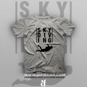 تیشرت Skydiving #8