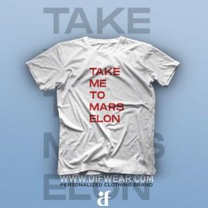 تیشرت Take Me To Mars