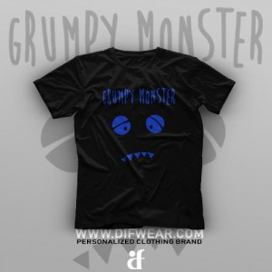 تیشرت Grumpy Monster
