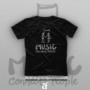 تیشرت Music Connects People