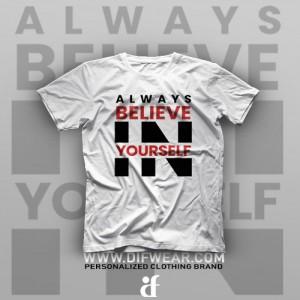 تیشرت Believe in Yourself #4