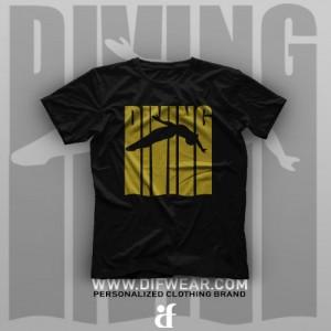 تیشرت Diving #1