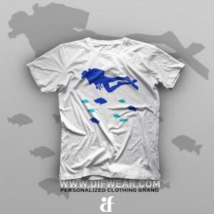 تیشرت Diving #5