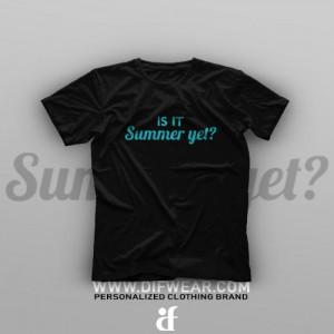 تیشرت Is It Summer Yet