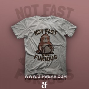 تیشرت Not Fast, Not Furous #1
