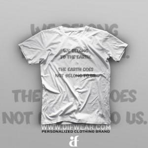 تیشرت We And Earth