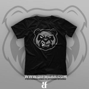 تیشرت Angry Panda