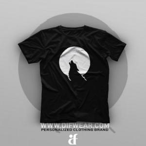 تیشرت Night Wolf #3