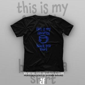 تیشرت Black Tea-Shirt