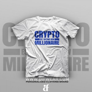 تیشرت Crypto Millionaire