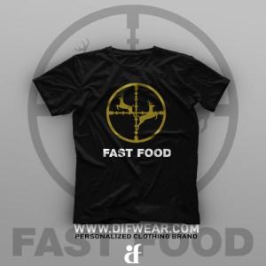 تیشرت Fast Food #1