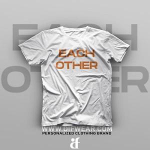 تیشرت Made For Each Other #B