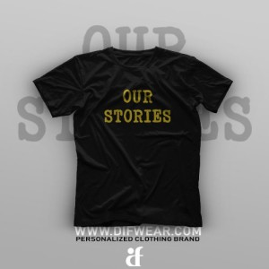 تیشرت Our Stories Will Never End #A
