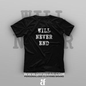 تیشرت Our Stories Will Never End #B