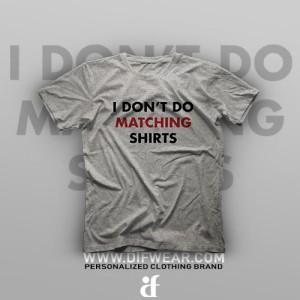 تیشرت Matching Shirts #A