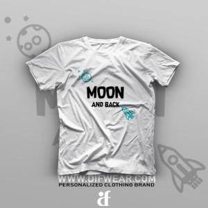 تیشرت To The Moon And Back #B