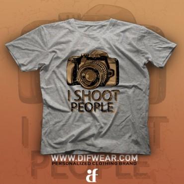 تیشرت I Shoot People