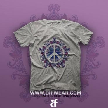 تیشرت Purple Peace