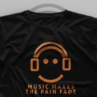 تیشرت Music Makes The Pain Fade