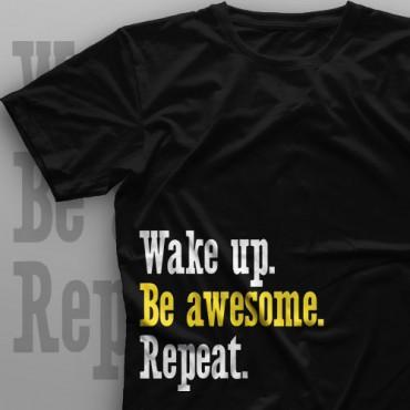 تیشرت Wake Up, Repeat #1
