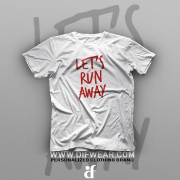 تیشرت Let's Run Away
