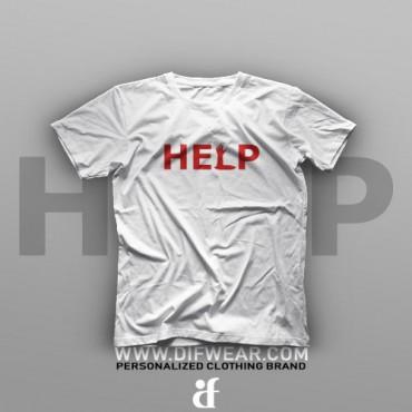 تیشرت Logo Art: Help #7