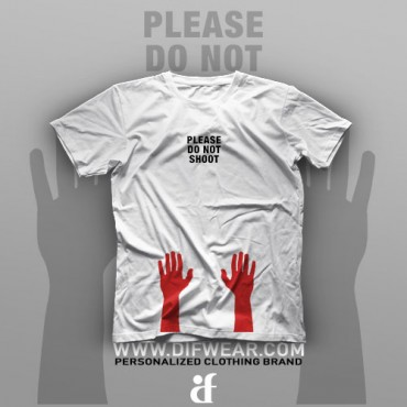 تیشرت Please Do Not Shoot