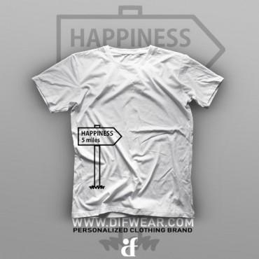 تیشرت Happiness 5 Miles
