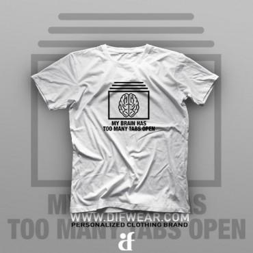 تیشرت Too Many Tabs Open