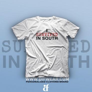تیشرت I Survived In South