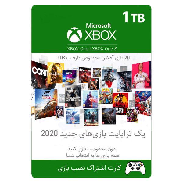 کارت نصب بازی XBOX One برای ظرفیت 1 ترابایت