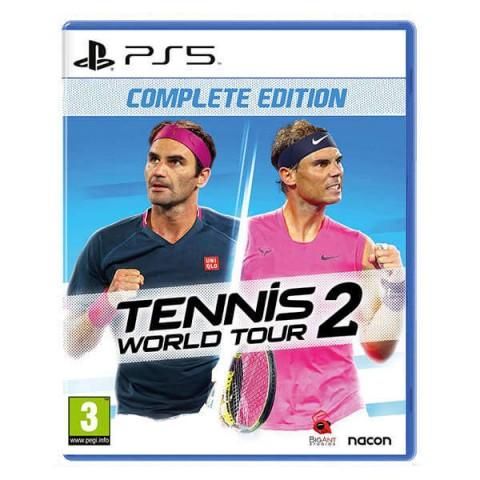 بازی Tennis World Tour 2 مناسبب کنسول بازی PS5