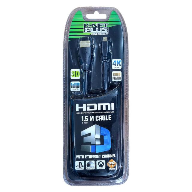 کابل HDMI to Micro HDMI کی نت پلاس 1.5 متری