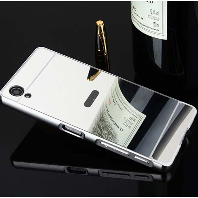 قاب آینهای دور فلزی موبایل سونی X Performance