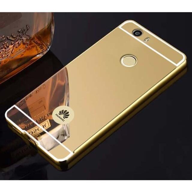 قاب آینهای دور فلزی موبایل هوآوی Nova