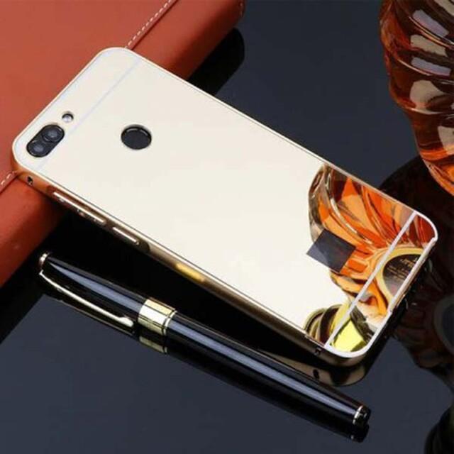 قاب آینهای دور فلزی موبایل هوآوی Y9 2018